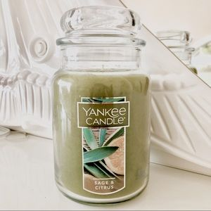 Yankee Candle Large Classic Jar Sage and Citrus